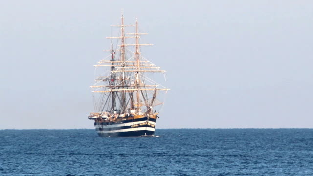 old sailing ship video
