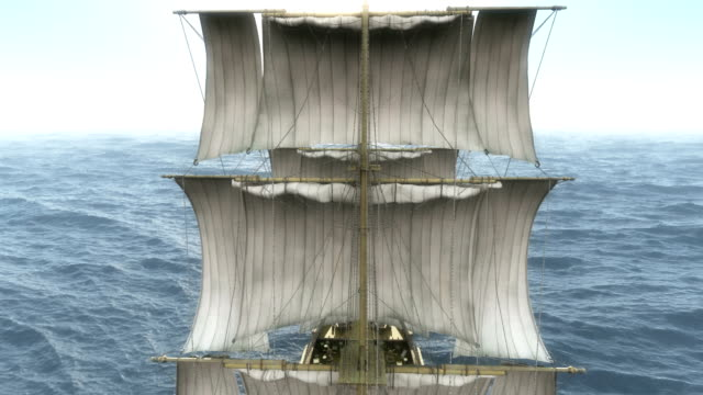old ship in sea old ship in sea mast sailing stock videos & royalty-free footage