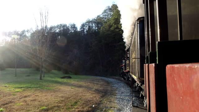 Old Steam Train Ride video
