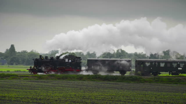 Old Steam Train with sound