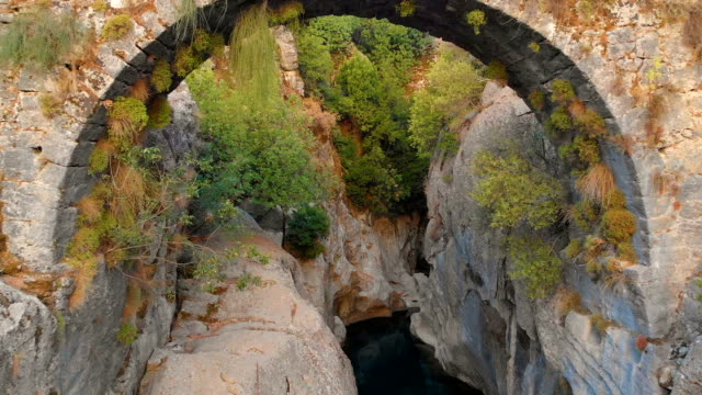 Old Stone Bridge in Canyon of Manavgat River, Antalya, Turkey