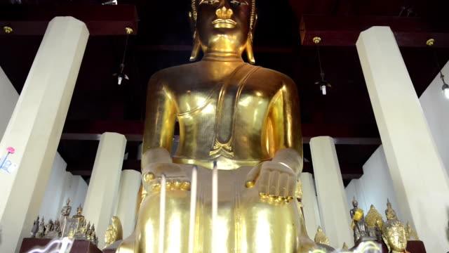 Old Stone Buddha Statues video