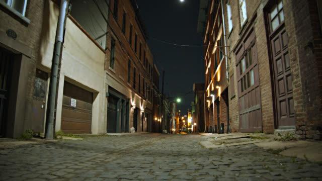 Old street. Dark, horror, nightmare