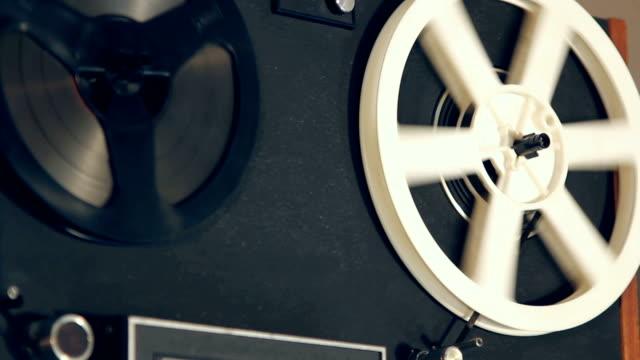 vecchio nastro - mangianastri video stock e b–roll