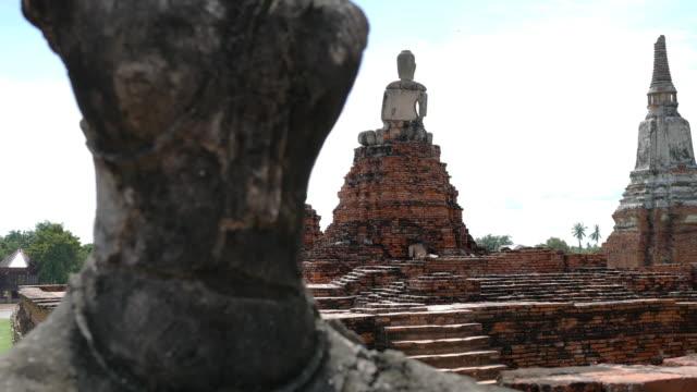 Old temple, Ayutthaya, Thailand video