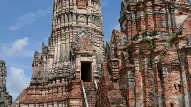 Old temple, Ayutthaya, Thailand video