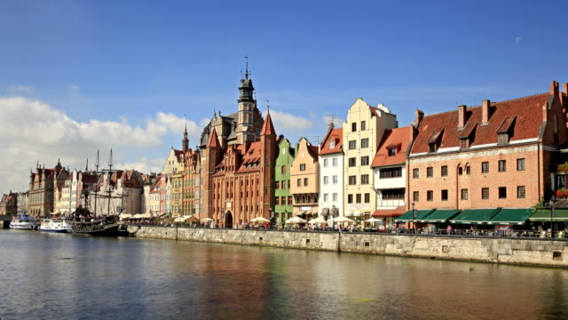 Old town of Gdansk video