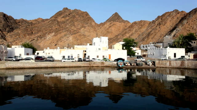 Old town of Muscat, Oman video