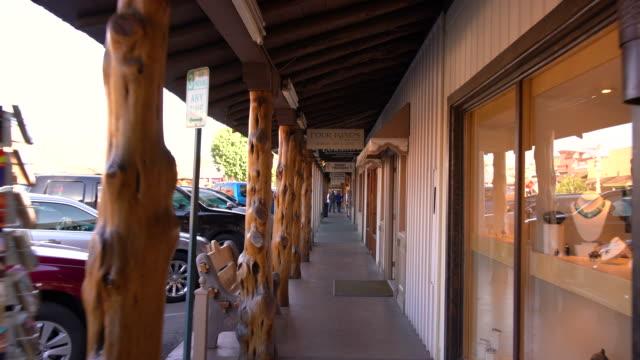 stockvideo's en b-roll-footage met pov old town scottsdale / scottsdale, az, usa - arizona highway signs