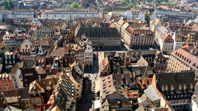 Old town Strasbourg, Time Lapse video
