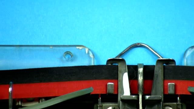 Old Typewriter: We need change video