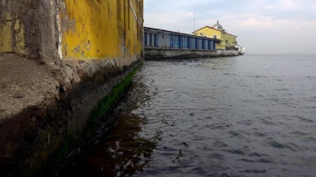 Old Vintage Dock near the Sea