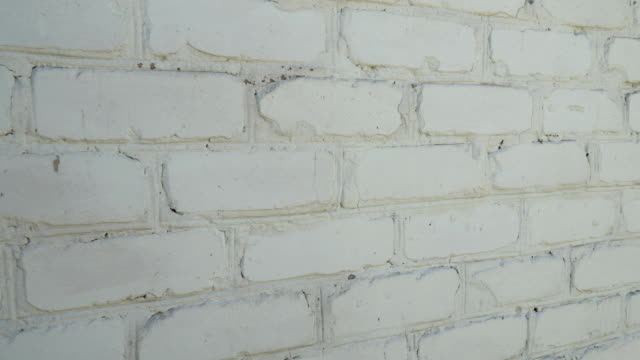 old white brick wall texture background video
