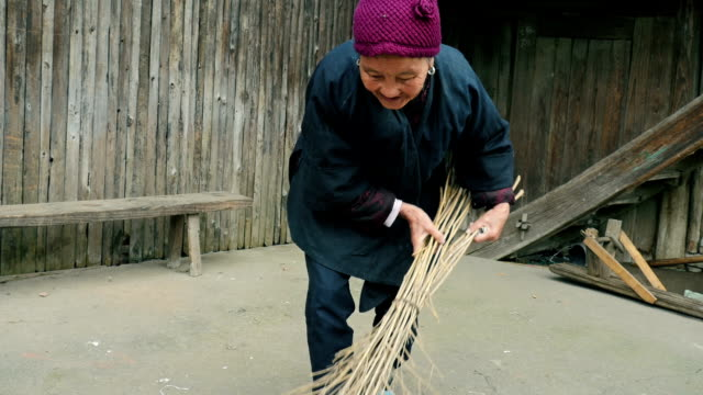 Old woman in China video
