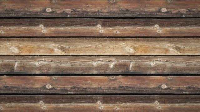 vidéos et rushes de vieux mur en bois - bois texture