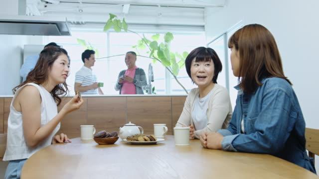育った子供たちと古い日本のカップル - 日本人のみ点の映像素材/bロール