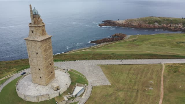 oldest Roman lighthouse in use today, La Coruna