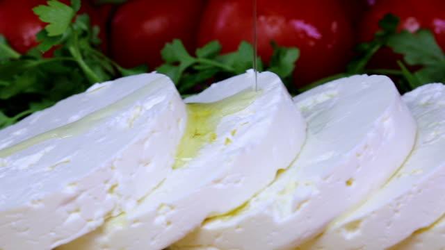 olive oil cheese - сыр стоковые видео и кадры b-roll