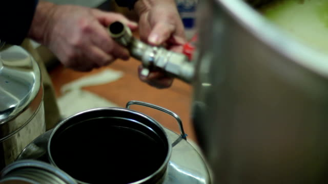 Olive oil production video