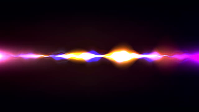 сolorful wellenform, phantasie stimme aufzeichnen, künstliche intelligenz-animation mit optionalen luma matte. alpha luma matte enthalten. 4k video - sound wave stock-videos und b-roll-filmmaterial