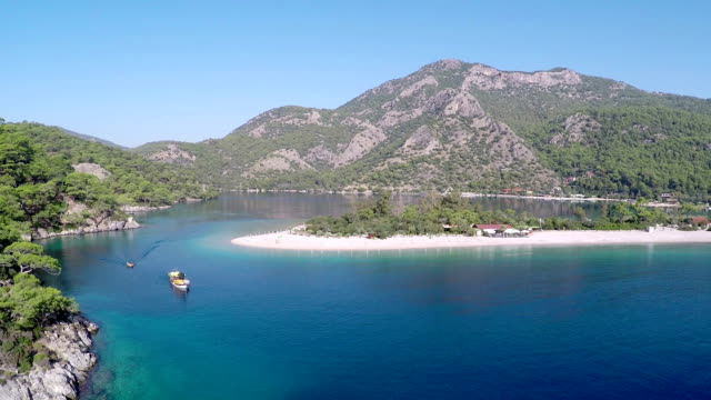 oludeniz-video aerea - fethiye video stock e b–roll