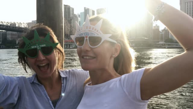 LGBT on a City Break Brooklyn - New York, Manhattan - New York City, New York City, Roosevelt Island, USA bisexuality stock videos & royalty-free footage