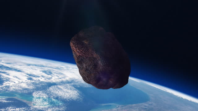 ASTEROID on a collision course with Planet Earth.