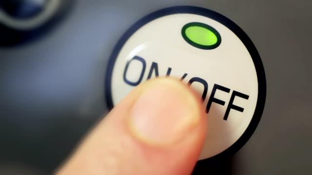 Botón de encendido y apagado - vídeo
