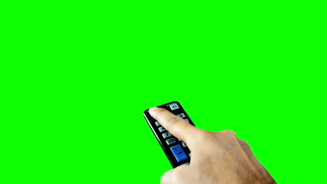 On Off Remote Controller Green Screen video