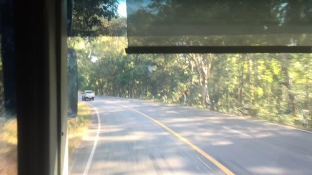 vídeos de stock, filmes e b-roll de no ônibus - nordeste