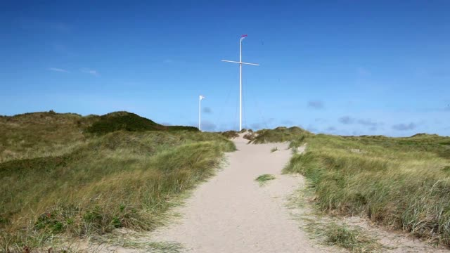 vid kusten i agger - dansk kultur bildbanksvideor och videomaterial från bakom kulisserna