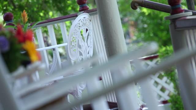 On The Veranda  rocking chair stock videos & royalty-free footage