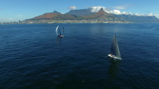 On the waters of Table Bay video