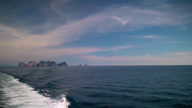 On the Way from Phi Phi Islands to Phuket, Thailand video
