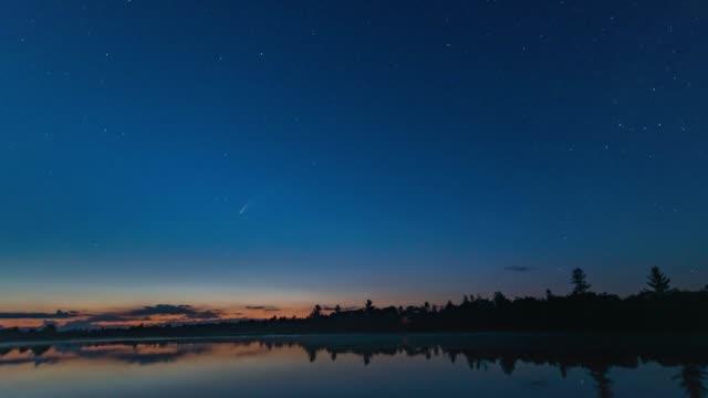 C/2020 F3 (NEOWISE) on Torrance Barrens Dark-Sky Preserve, Gravenhurst, Canada