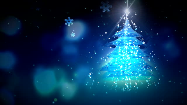 One Christmas Tree and Flicker video