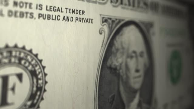 US One dollar note close up dolly shot US One dollar note close up dolly shot us paper currency stock videos & royalty-free footage