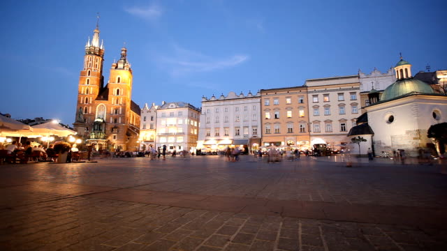 One evening in Krakow video