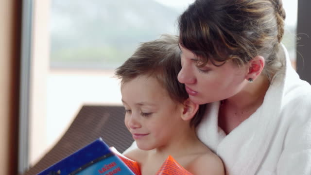 One family day at the spa video