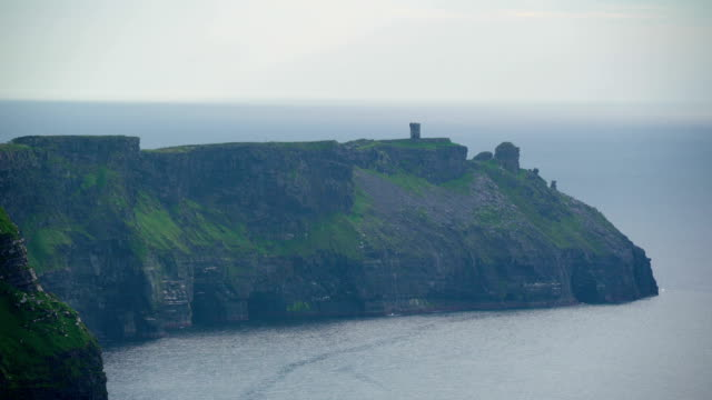 One of the many cliffs in Moher  Ireland video
