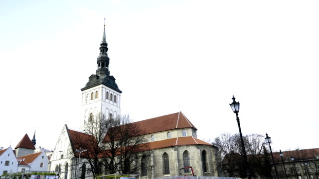 One of the old architecture in Tallin video