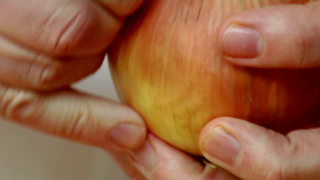 HD Onion Dicing Closeup video