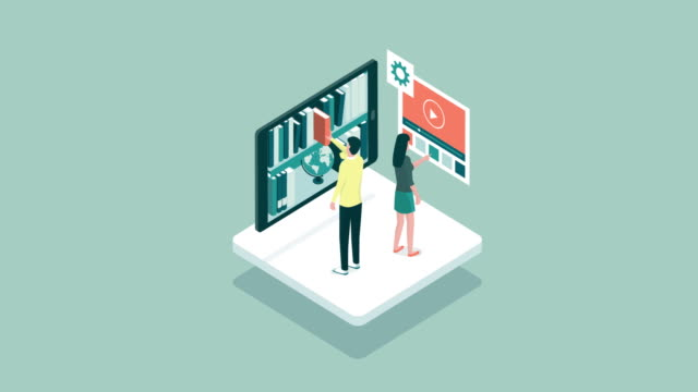 Online learning and database