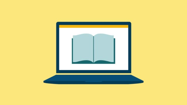 vídeos de stock, filmes e b-roll de plataforma de aprendizado online - distintivo