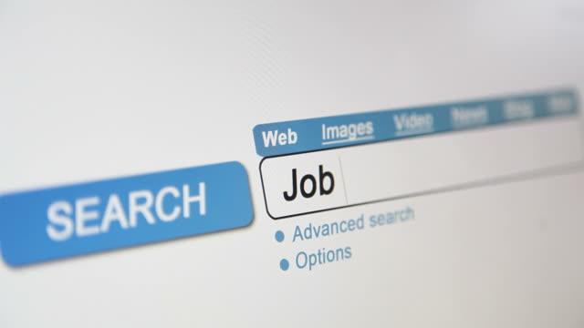 online search - Job vacancy video