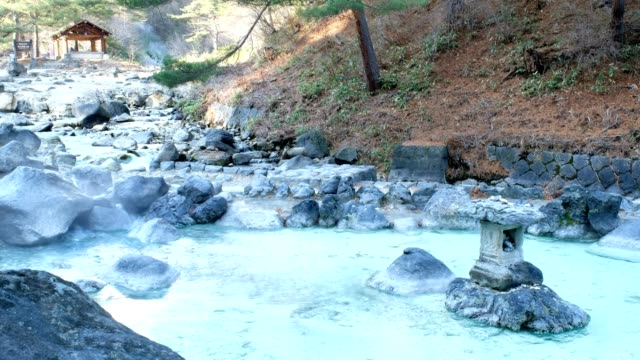 Onsen Japanese hot spring sources in Japan video