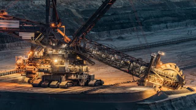 Open Cast Mining - Time Lapse