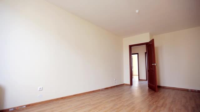 Open door in Empty Room video