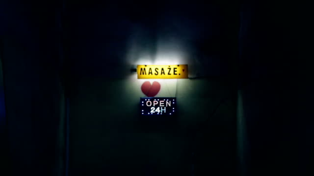 Open, Neon, Massage, Heart video