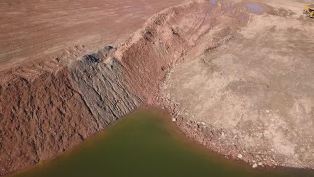 Open Pit Gypsum Mining